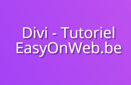 Comment modifier du texte avec Divi