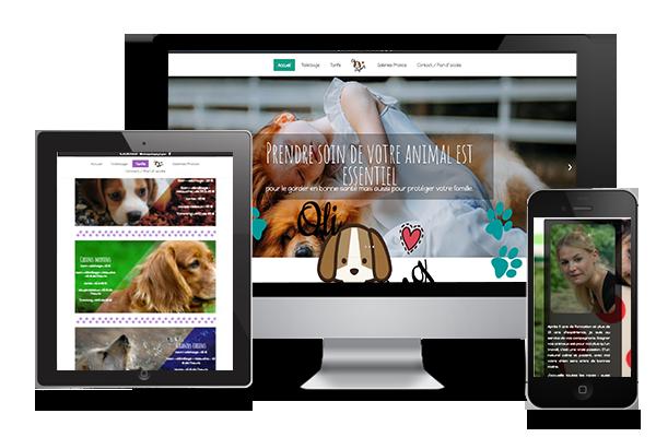 Olidog Styling.be Création de site web