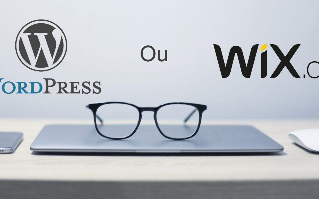 Wix ou WordPress, qui est le meilleur en 2020?