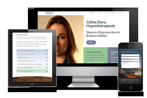 hypnolife portfolio webdesign