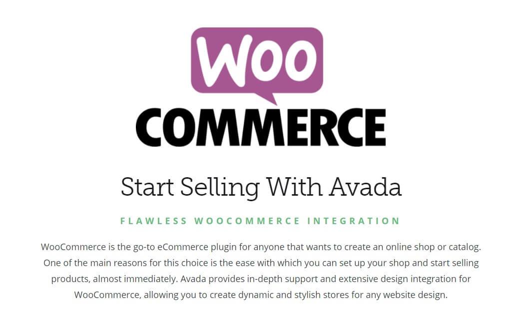 Woocommerce et Avada